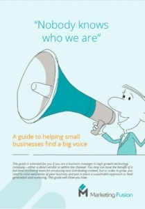 Small businesses: find a big voice for your company