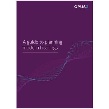 Planning modern hearings