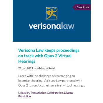 verisona law